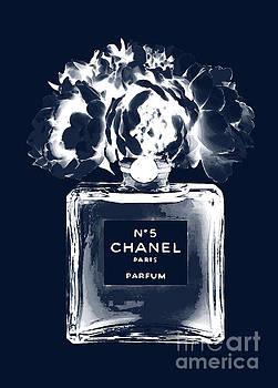 Chanel Perfume Nr.5 Indigo 2 by Del Art