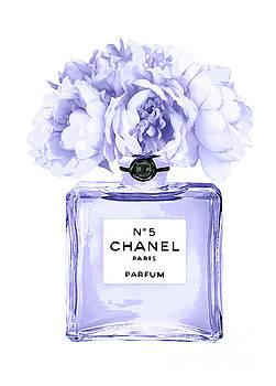 Chanel Perfume Nr.5 lilac by Del Art