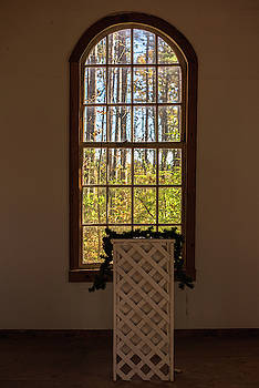 Chapel Arch Window by Terry DeLuco
