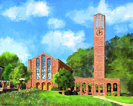 Chapel of Memories - Mississippi State by Mark Tisdale