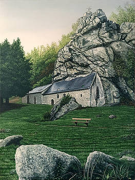 Chapel of St. Gildas Brittany France by Michael Parent