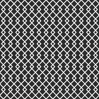 Charcoal Gray Diamond Pattern by Ross