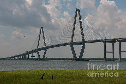 Dale Powell - Charleston Bridge over the Cooper River