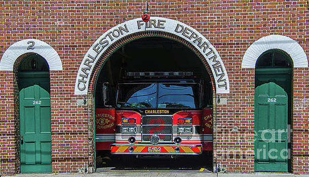 Charleston Fire Department - 2 by Dale Powell