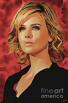 Charlize Theron collection - 1 by Sergey Lukashin