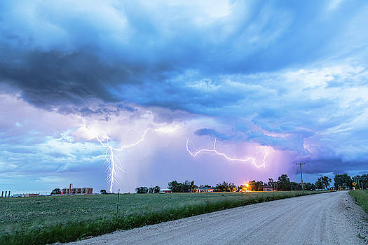 Chasing Fracking Lightning Storms by James BO Insogna
