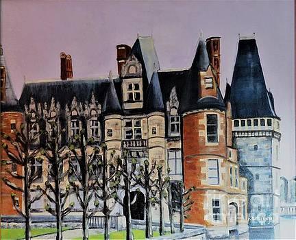 Chateau de Maintenon by Laurie Morgan