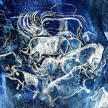 Weston Westmoreland - Chauvet - Rhinoceros Panel - Negative