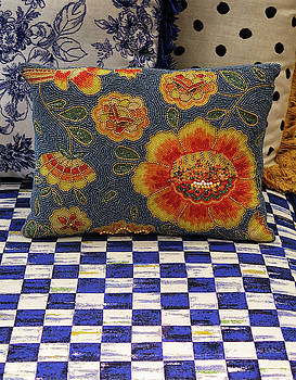 Checkerboard and Pillow by Dave Mills