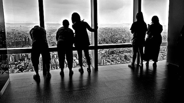 Checking the skyline by Russ Barneveld