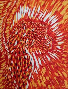 Cheetah Spirit by Claude Edwin Theriault
