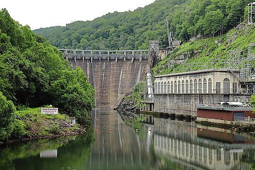 Cheoah Dam Reflection by Jim Allsopp