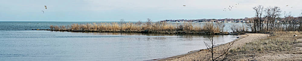 Chesapeake From Ft Smallwood Pano by Brian Wallace