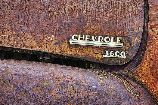 Chevrolet 3600 Rusty Truck by Jerry Fornarotto