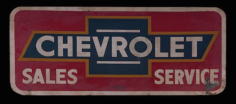 Chevrolet dealership sign by Chris Flees