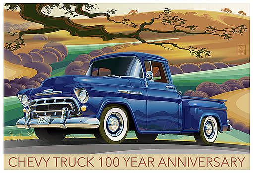 Chevy Truck Centennial 3100 by Garth Glazier