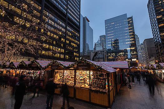 Chicago Christkindl Holiday Market by Steve Gadomski