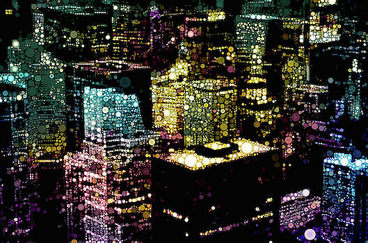 Chicago City Lights by Susan Maxwell Schmidt