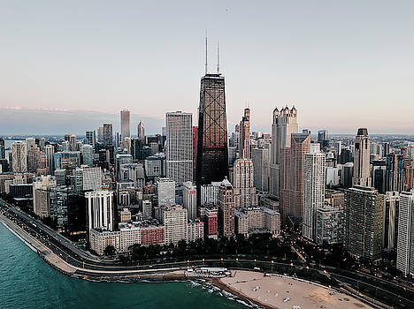 CHICAGO GOLD COAST and North Magnificent Mile by Daniel Hagerman