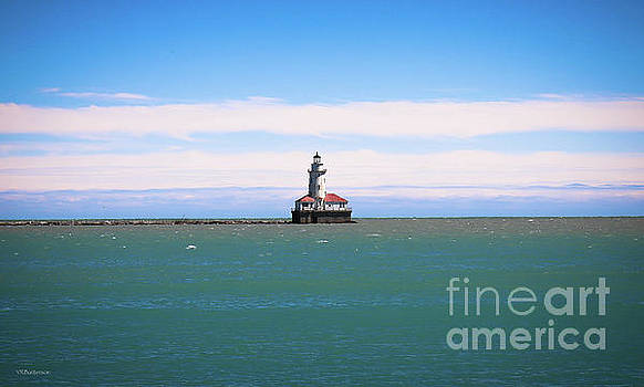 Chicago Harbor Lighthouse by Veronica Batterson