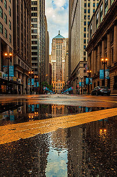 Chicago Reflection by Andrew Soundarajan