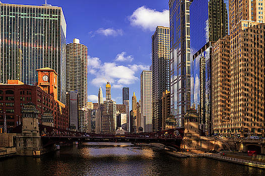 Chicago River View by Andrew Soundarajan