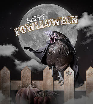 Chicken Fowlloween by Dorothy Roberts-Johnston