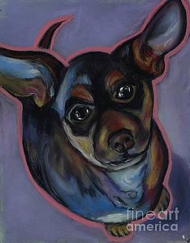 chihuahua Wow Wow by Ann Hoff