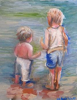 Children by the Water by Lilly Ramphal