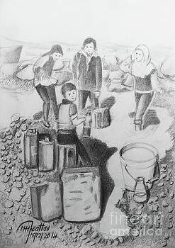 Children of the Syrian crisis by Mohammad Hayssam Kattaa