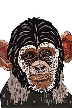 Chimp by Karen Elzinga