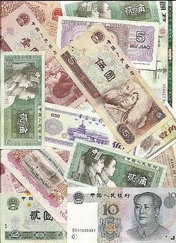 China yuan and renmin bills by Steve Estvanik