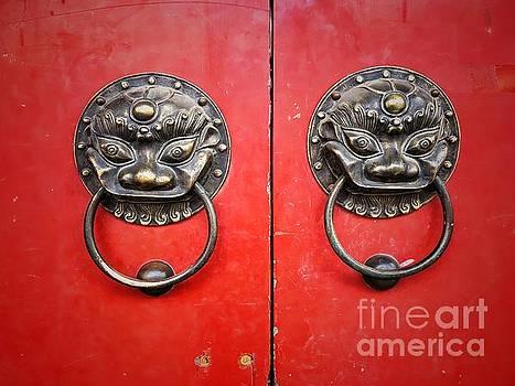 Chinese door knocker by Iryna Liveoak