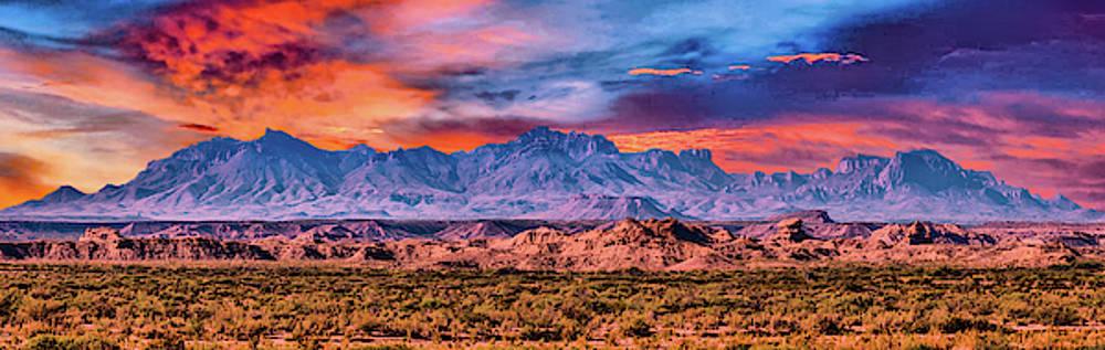 Chis Mountain Range by Gaylon Yancy