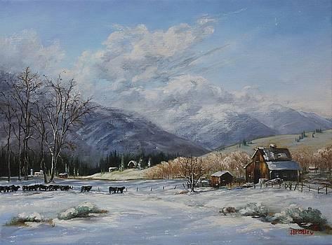 Chow Line by Judy Bradley