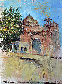 Chowgan Gate - Bundi series 1 by Uma Krishnamoorthy