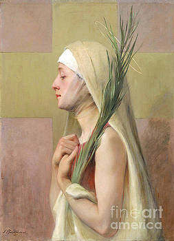 Tina Lavoie - Christian Religious art, Woman Saint and Martyr