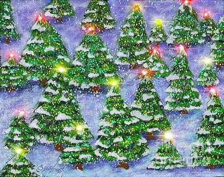 Caroline Street - Christmas Forest
