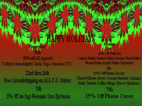 Mike Breau - Christmas Holiday-Black Friday-Cyber Monday Specials