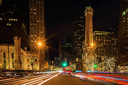 Christmas in Chicago by Andrew Soundarajan