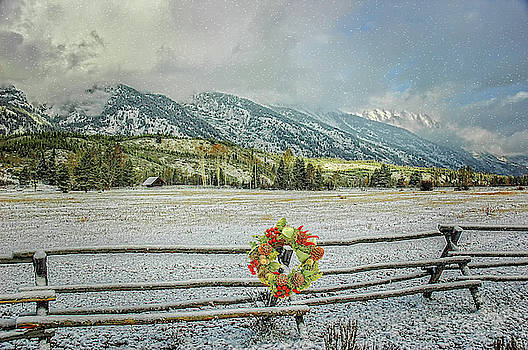 Christmas in the Tetons by Mary Timman