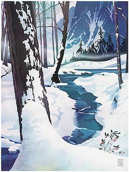Garth Glazier - Morning at Christmas Creek