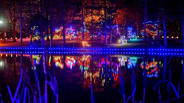 Christmas Reflection by Barkley Simpson