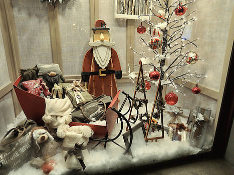Christmas shop window 3 by Guido Strambio