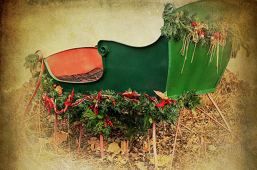 Christmas Sleigh by Annette Persinger
