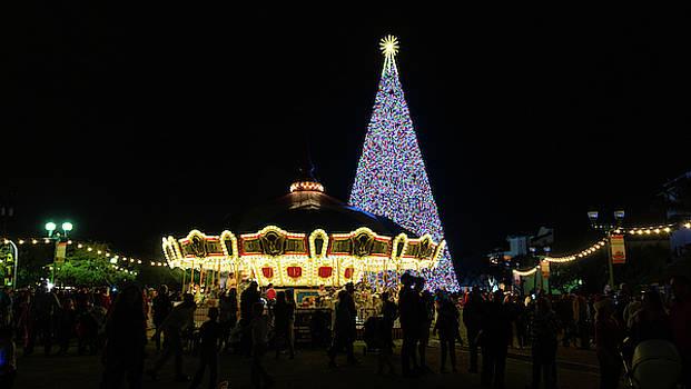 Christmas Tree Carousel Delray Beach Florida by Lawrence S Richardson Jr