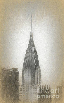 Chrysler Building by Marvin Spates