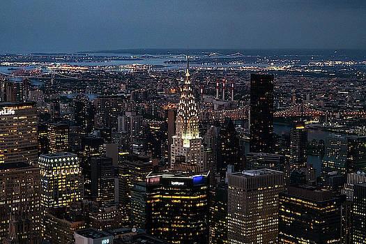 Sharon Popek - Chrysler Building Night