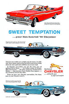 Chrysler Most Prestigious Cars 1959 by Zal Latzkovich