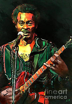 Chuck Berry collection - 1 by Sergey Lukashin